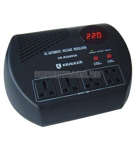 Технология: автоматический регулятор, релейного типа (улучшенная схема) Диапазон входного напряжения: 140 - 260 В...